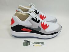 "WMNS NIKE AIR ZOOM 90 IT GOLF CLEATS ""RORY MCILROY"" WHITE SZ 9 [844648-100]"