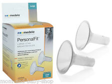 MEDELA BREAST PUMP PERSONALFIT BREASTSHIELD BREAST SHIELD LARGE 27 MM x2 #87074