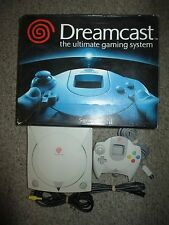 Sega Dreamcast Video Game System Console with Box #20