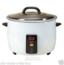 Rice Cooker Commercial  60 Cups Cooked Automatic Warmer Restaurant Catering