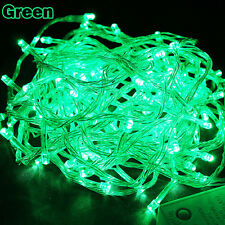 10M/20M/50M 100/200/400LED Bulbs Christmas Fairy Party String Lights Waterproof