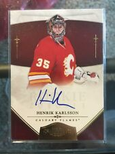 2010-11 Dominion ROOKIE AUTO Henrik Karlsson /25 SP Panini SSP 10/11 RC