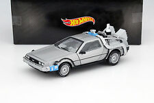 Delorean DMC12 Film Back to the Future III 1990 mit Mr. Fusion 1:18 HotWheels