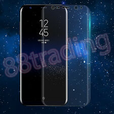 5 x FULL CURVED FIT PREMIUM ANTI SCRATCH SCREEN PROTECTOR FOR SAMSUNG GALAXY S8