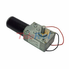 DC 12V Electrical Worm Gear Motor High Speed 470rpm Metal Geared for Robot & Toy