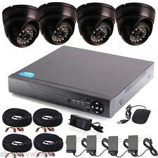 CCTV 4CH HDMI DVR HD 700TVL 24IR-Leds Home Surveillance Security Cameras System