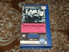 Trinity is Still My Name (VHS, 1980) Rare OOP 1st Magnetic Video/Terrence Hill!
