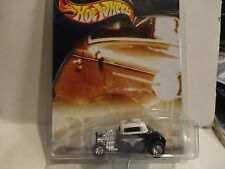 Hot Wheels Auto Milestones Black '32 Ford w/Real Riders