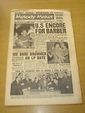 MELODY MAKER 1959 MARCH 28 CHRIS BARBER JAZZ CARMEN MCRAE LONNIE DONEGAN +