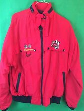 Vintage 90s Snap On Tools Indy Racing Red Jacket Mens Large