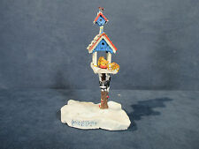 Ertl Collectables Farm Country Christmas Bird Feeder with Cats Lowell Davis