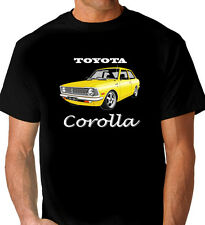 TOYOTA   KE20  COROLLA   COUPE  BLACK  T-SHIRT    MEN'S LADIES KIDS SIZES