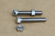 SUZUKI GT750 GT550 GT380 GT250 GT CHAIN ADJUSTER BOLTS 09104-08034 STAINLESS