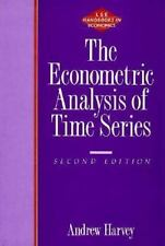 The Econometric Analysis of Time Series - 2nd Edition (London School-ExLibrary