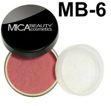 MicaBeauty Natural Mineral Powder Blush MB-6 WILD ROSE