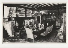 The Main Hall Brede Place Sussex 1962 RP Postcard 653a