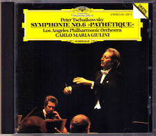Carlo Maria GIULINI: TCHAIKOVSKY Symphony No.6 Pathetique DG 1981 CD Los Angeles