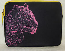 NWT JUICY COUTURE SNOW LEOPARD NEOPRENE IPAD SLEEVE CASE COVER ~ RETAIL $48
