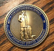 NEXCOM Navy Exchange Service Command Challenge Coin