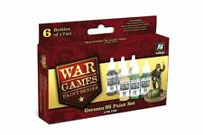 VALLEJO 70.158 War games SS Allemands kit – German SS paint set 6x17ml