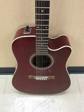 VINTAGE 1981 ALVAREZ 5072 ACOUSTIC ELECTRIC GUITAR JAPAN TRANS CHERRY MIJ RARE