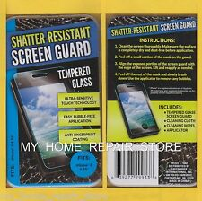 US SELLER! FREE S&H! APPLE iPHONE 5 AND 5S TEMPERED GLASS SCREEN PROTECTOR GUARD