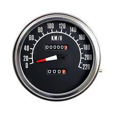 Fat Bob Tachimetro f - Face mph Nero, per Harley - Davidson 1:1