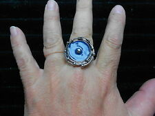 Paparazzi StretchBand Ring (new) EYE OF THE STORM - DARK TEAL