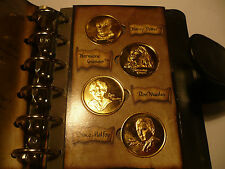 free 24k gold full set Harry Potter coin in book  when you buy 2015 20p unc coin