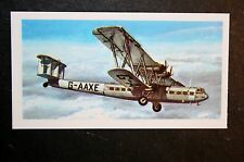 Handley Page HP42   Imperial Airlines   Illustrated  Card  ## EXC