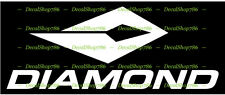 Diamond Bows - Outdoor Sports/Archery/Hunting- Vinyl Die-Cut Peel N' Stick Decal