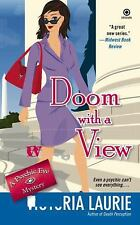 Doom with a View (Psychic Eye Mysteries, Book 7) Laurie, Victoria FAST FREE SHIP