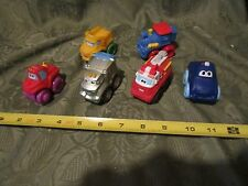 Lot of 5 Tonka Chuck & Friends Preschool Toy Trucks 2005-2011 Hasbro PVC & Metal