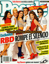 Spanish People 8/07,RBD,August 2007,NEW