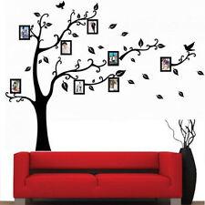 90 60cm Baby Familie Fotorahmen Speicher Baum Kunst Wandsticker Aufkleber