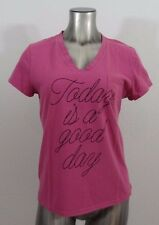 Life is Good Today is a Good Day women's sleep t-shirt M