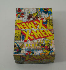 1994 Fleer X-Men Tattoo Box 180 Packs Rare