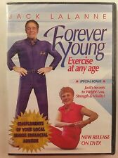 BRAND NEW Jack Lalanne Forever Young Exercise at Any Age DVD Weight Loss Fitness