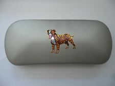 STAFFORDSHIRE BULL TERRIER dog  new Metal Glasses Case ideal gift for Christmas