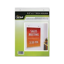 Nu-Dell Wall Sign Holder - 38011Z