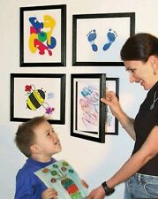 Child Artwork Frame - Display Cabinet Frames And Stores Your Child's New
