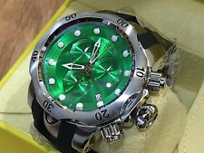 6105 Invicta Reserve Mens Venom Swiss Quartz Chronograph Green Dial Strap Watch
