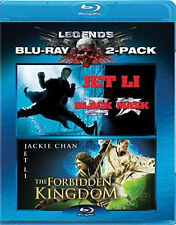 BLACK MASK & FORBIDDEN KINGDOM (Jet Li) - BLU RAY - Region A - Sealed