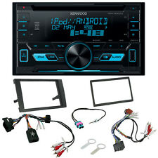 Audi A4 B7 2007  Double Din CD MP3 USB iPhone & Android Direct Music Upgrade Kit