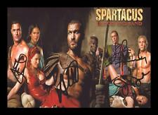 SPARTACUS - BLOOD AND SAND AUTOGRAPHED SIGNED & FRAMED PP POSTER PHOTO