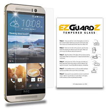 2-Pack EZguardz Premium Tempered Glass Screen Protector For HTC One M9
