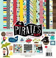 PIRATE's LIFE 12x12 Collection Kit Kids Scrapbook ECHO PARK Paper NEW!