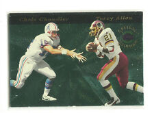 1996 Playoff Illusions Optical Illusions #17 Chris Chandler / Terry Allen