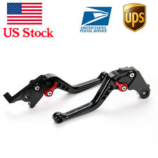Short Black CNC Brake Clutch Levers For Honda GROM/ MSX125 (2014 2015 2016)