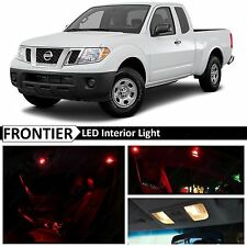 7x Red Interior LED Lights Package for 2005-2016 Frontier Truck